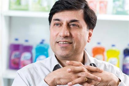 Rakesh Kapoor: chief executive designate of Reckitt Benckiser
