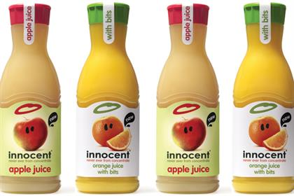 Innocent: readies the launch of apple and orange products