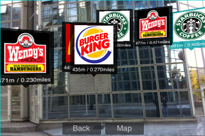 Fast food chains can now be found with ease