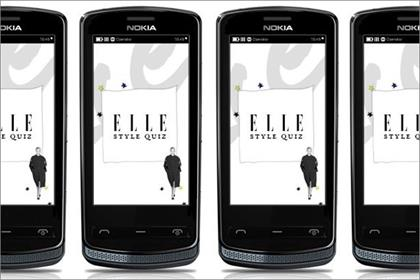 Elle: creates app to promote the Nokia 700 smartphone