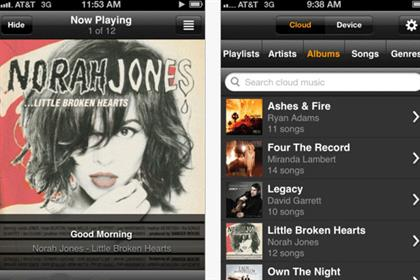 Amazon: cloud music service app