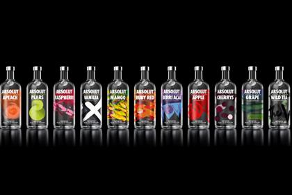 Absolut: revamped range