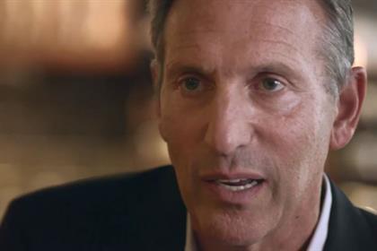 Howard Schultz: Starbucks' chief executive