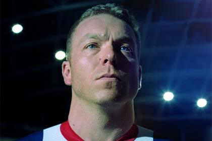 Sir Chris Hoy: fronts Nissan's #UniteAndExcite Olympic campaign
