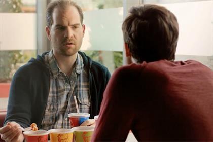 KFC: 'daredevil bites' TV campaign