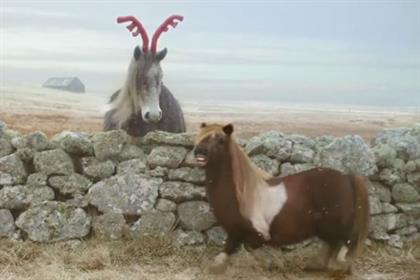Three: the pony gets festive