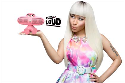 Nicki Minaj: stars in Beats Pill campaign