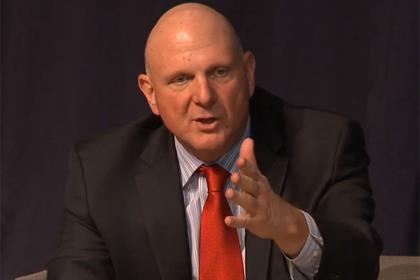Steve Ballmer: former Microsoft chief addresses delegates at the Saïd Business School