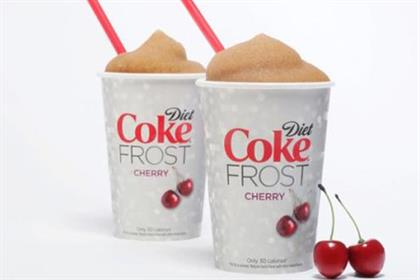 Coke: makes frozen drink debut with Diet Coke Frost Cherry variant