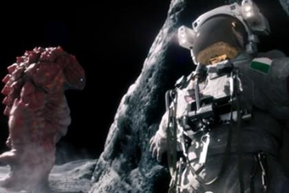 Monster attack: ad for Haynes fake beans brand has astronauts in peril