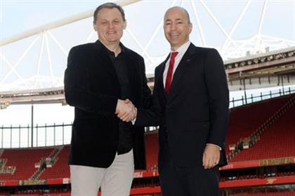 Arsenal and Puma sign a kit sponsorship deal