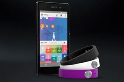 Sony: SmartBand wearable device interacts with Xperia smartphones