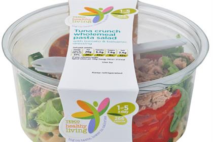 Tesco: launches its Healthy Living range