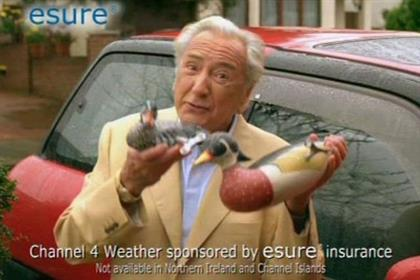 Esure: Michael Winner-fronted ad