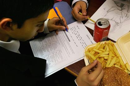 Junk food: new research suggests that the current rules governing advertising are ineffective
