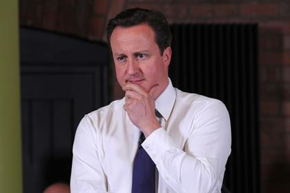 David Cameron: promoting small businesses