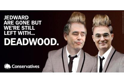 Tories...Jedward poster