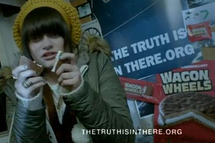 Wagon Wheels: 'the truth is in there' campaign