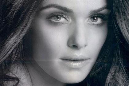 Rachel Weisz: in the banned L'Oreal press ad