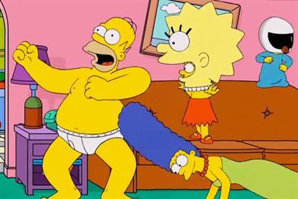 Harlem shake: Simpsons feature in parody ad