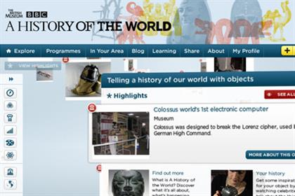 BBC: launches website in partnership with the British Museum