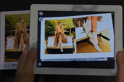 Clarks: augmented reality campaign for its spring/summer 2012 collection