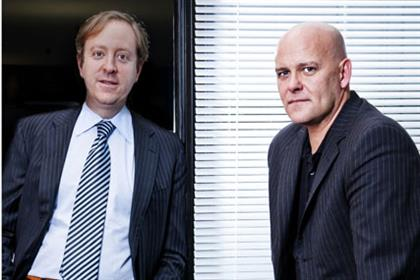 Benett (l) and Bournecombining agencies' strengths