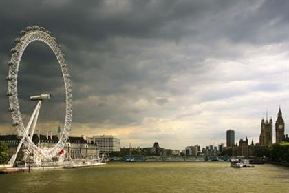 London Eye…number-one tourist attraction in the UK