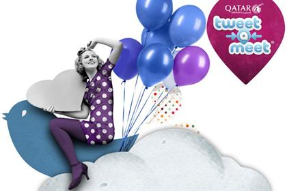 Qatar Airways: launches Tweet-a-meet competition