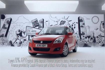 Suzuki: The Red Brick Road will handle national and local through-the-line advertising