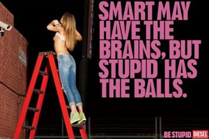 Diesel: Be Stupid campaign criticised by ASA