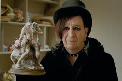 Aviva: Paul Whitehouse plays a goth in latest ad by Abbott Mead Vickers BBDO
