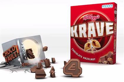 Krave: Kellogg will promote brand through E4 and Facebook