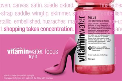 Glacéau Vitaminwater: Atelier will work across North-West Europe and the Nordics