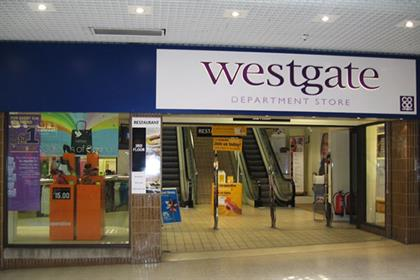 Westgate Department Store: part of Anglia Co-operative Furniture