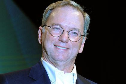 Eric Schmidt: Google's executive chairman