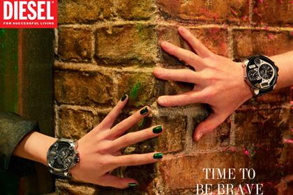 Diesel: Time to Be Brave campaign