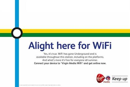 Virgin Media chief hails 'truly historic moment' as Wi-Fi comes to Underground