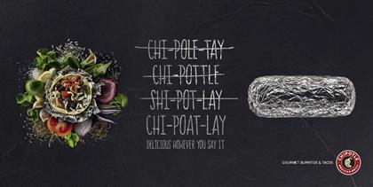 Chipotle: Mother is the creative agency for the brand's first UK campaign
