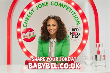 Alesha Dixon: stars in Babybel ad campaign