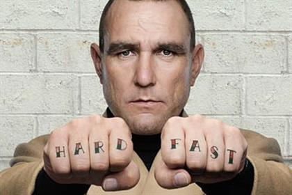 Vinnie Jones: tops this week's viral chart in British Heart Foundation ad