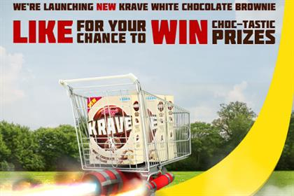 Kellogg's Krave: Facebook game promotes launch of white chocolate variety