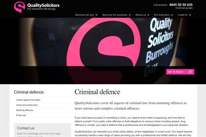 QualitySolicitors...account was previously handled by Team Saatchi