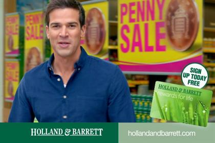 Holland & Barrett...reviewing advertising account
