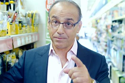 DWP: government pensions campaign starring Theo Paphitis