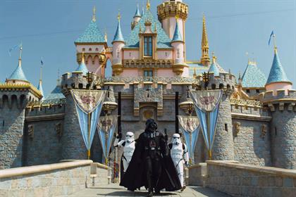Darth meets Disney: shared 244,922 times this week