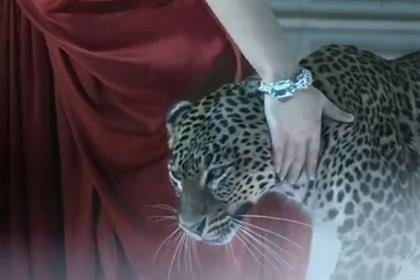 Cartier: unveils three-minute TV ad featuring live panthers