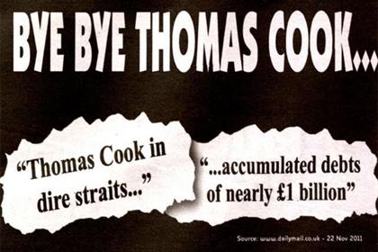Ryanair: 'bye bye Thomas Cook' campaign