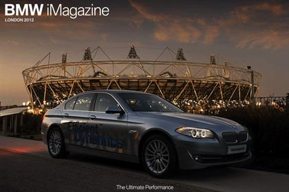 BMW: releases London 2012 Olympics iPad magazine app
