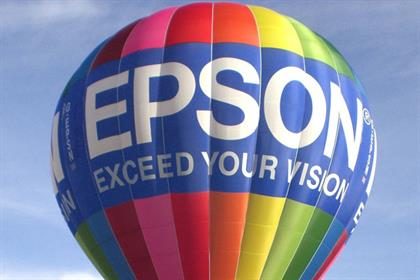 Epson: hires Total Media to its European media business